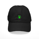 SCT Survivor Grunge Heart Black Cap