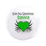 """SCT Survivor Grunge Heart 3.5"""" Button (100 pack)"""