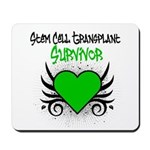 SCT Survivor Grunge Heart Mousepad