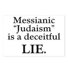 "Messianic ""Judaism"": Deceitful Lie Postcards (Pack"