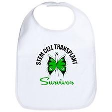 SCT Survivor Butterfly Bib