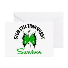 SCT Survivor Butterfly Greeting Card