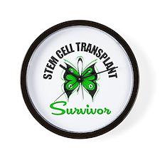 SCT Survivor Butterfly Wall Clock