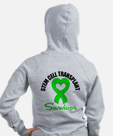 SCT Survivor Heart Ribbon Zip Hoodie
