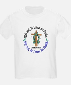 With God Cross Autism T-Shirt
