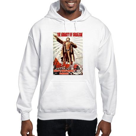 communist obama Hooded Sweatshirt