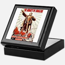 communist obama Keepsake Box