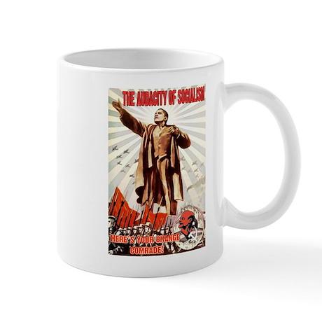 communist obama Mug