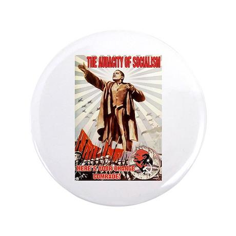 """communist obama 3.5"""" Button"""