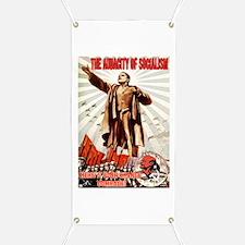 communist obama Banner