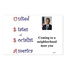 USSA Postcards (Package of 8)