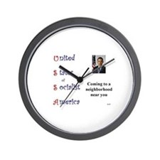 USSA Wall Clock