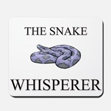 The Snake Whisperer Mousepad