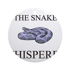 The Snake Whisperer Ornament (Round)