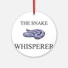 The Snake Whisperer Ornament (Round)