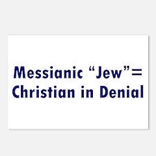 "Messianic ""Jew""=Christian in Denial Postcards (Pac"
