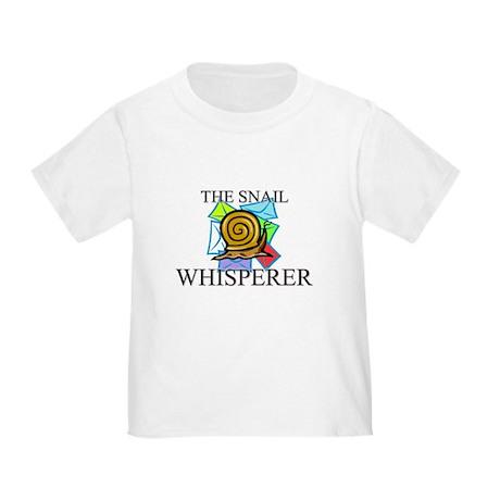 The Snail Whisperer Toddler T-Shirt