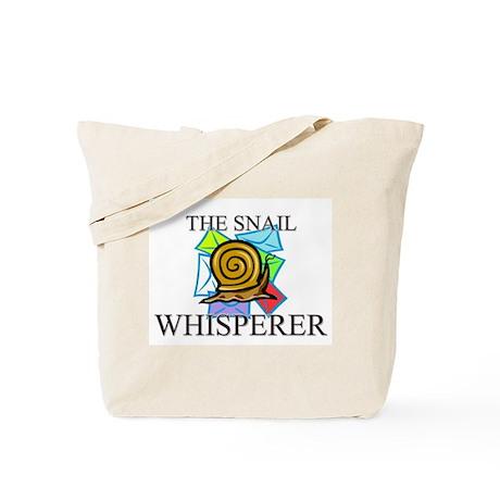 The Snail Whisperer Tote Bag