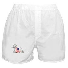 Patriotic Westie Boxer Shorts