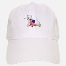 Patriotic Westie Baseball Baseball Cap