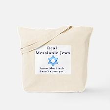 Real Messianic Jews Tote Bag