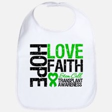 SCT Hope Love Faith Bib