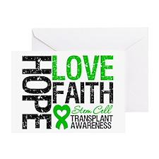 SCT Hope Love Faith Greeting Card