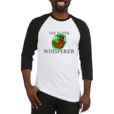 The Sloth Whisperer Baseball Jersey
