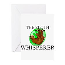 The Sloth Whisperer Greeting Cards (Pk of 10)