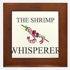 The Shrimp Whisperer Framed Tile