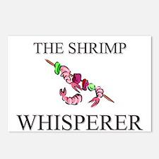The Shrimp Whisperer Postcards (Package of 8)