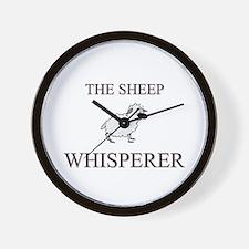 The Sheep Whisperer Wall Clock