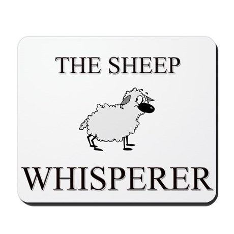 The Sheep Whisperer Mousepad