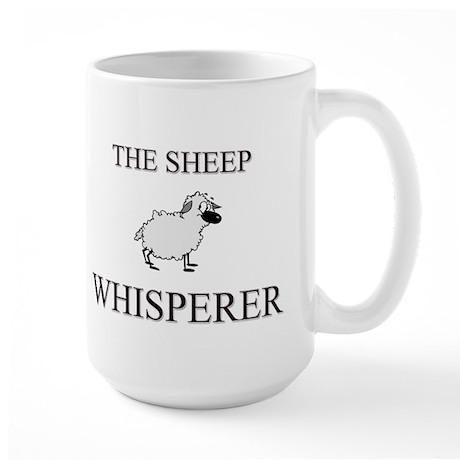 The Sheep Whisperer Large Mug
