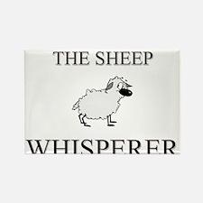 The Sheep Whisperer Rectangle Magnet