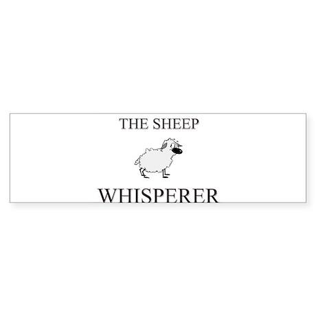 The Sheep Whisperer Bumper Sticker