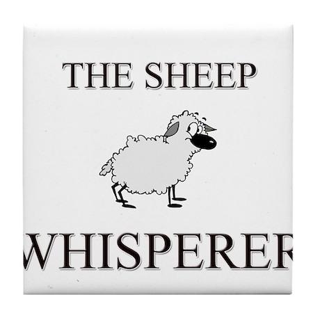 The Sheep Whisperer Tile Coaster
