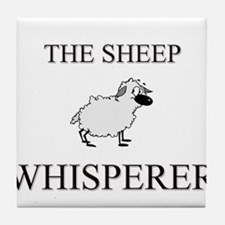 The Sheep Whisperer Tile Coaster