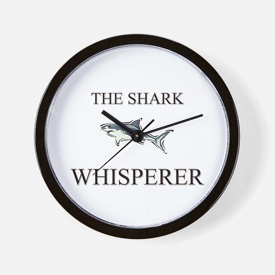 The Shark Whisperer Wall Clock