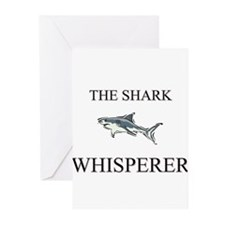 The Shark Whisperer Greeting Cards (Pk of 10)