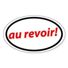 Au revoir! French Decal