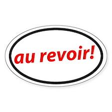 Au revoir! French Decal