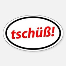 Tschüß! German Stickers