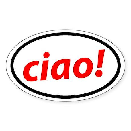 Ciao! Italian Sticker