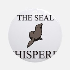 The Seal Whisperer Ornament (Round)