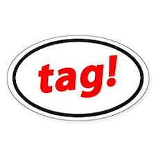 Tag! German Decal