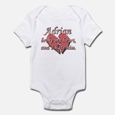 Adrian broke my heart and I hate him Infant Bodysu