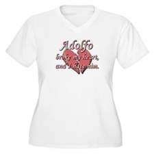 Adolfo broke my heart and I hate him T-Shirt