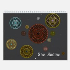 The Zodiac Wall Calendar