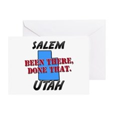 salem utah - been there, done that Greeting Card